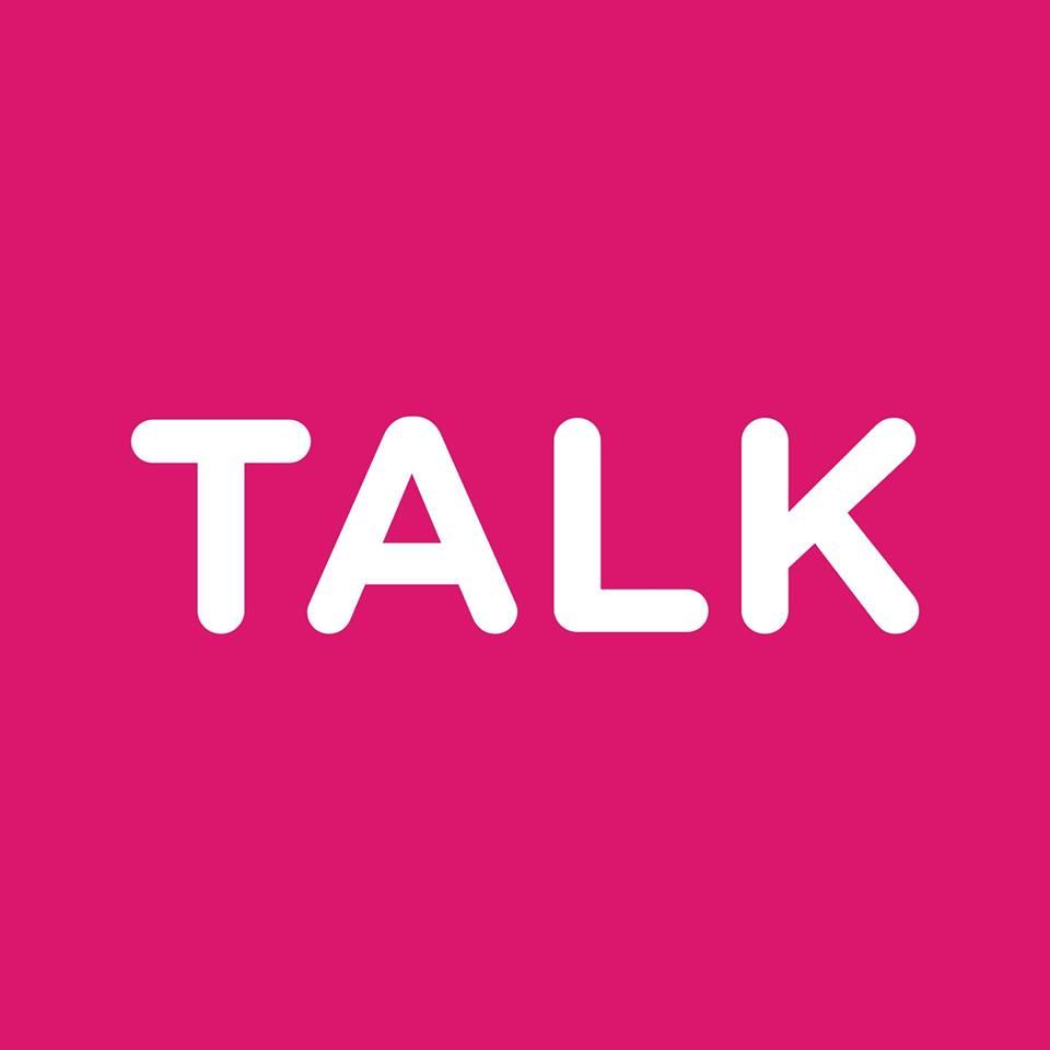 Logo da Talk Inc